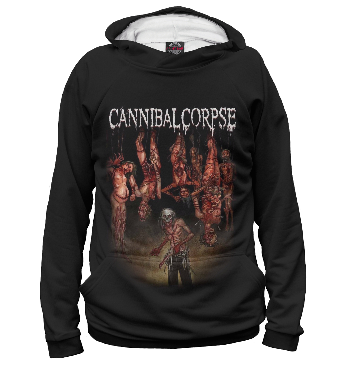 Купить Cannibal Corpse, Printbar, Худи, MZK-302466-hud-2