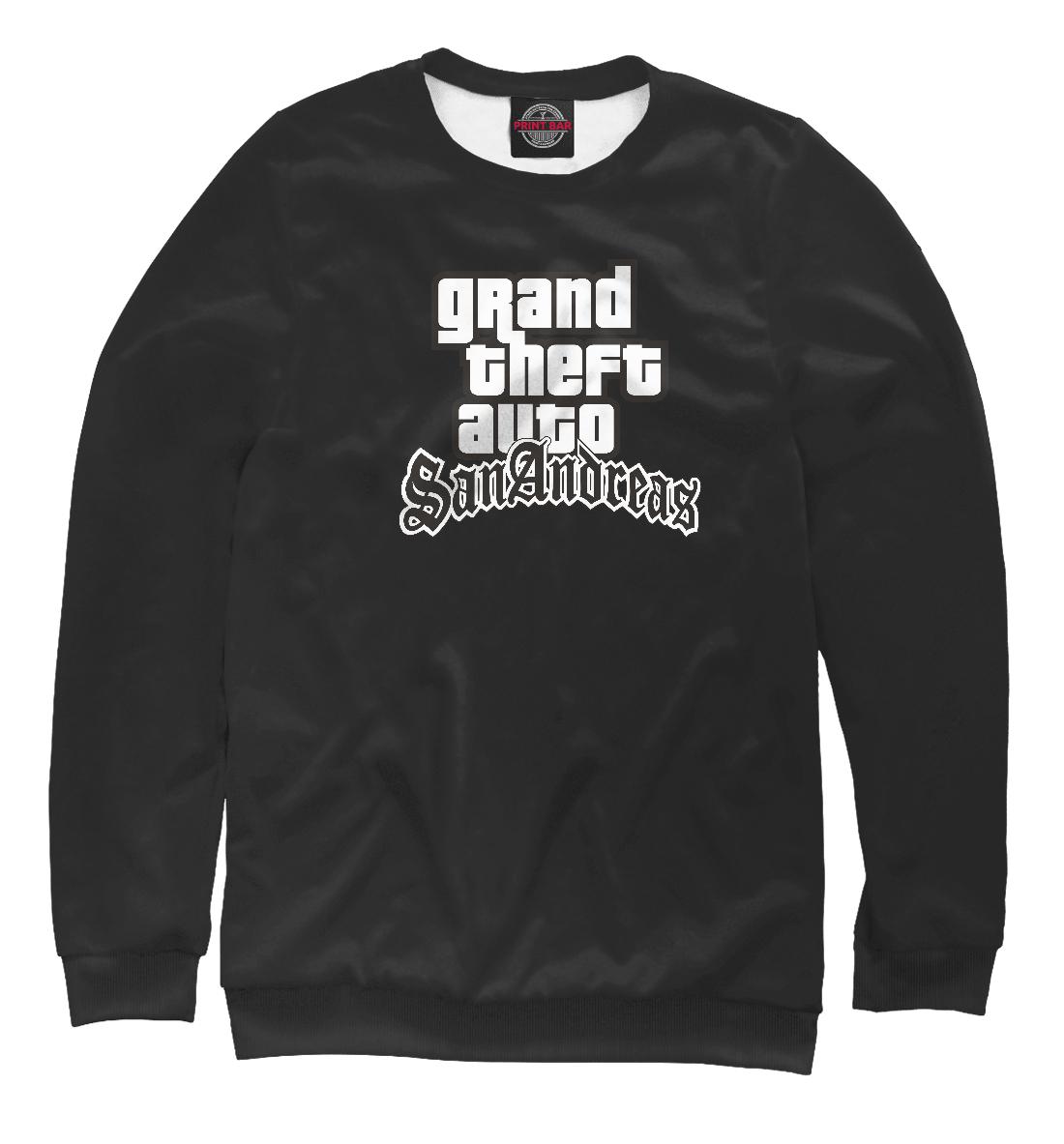Купить GTA San Andreas Logo, Printbar, Свитшоты, ROC-572197-swi-2