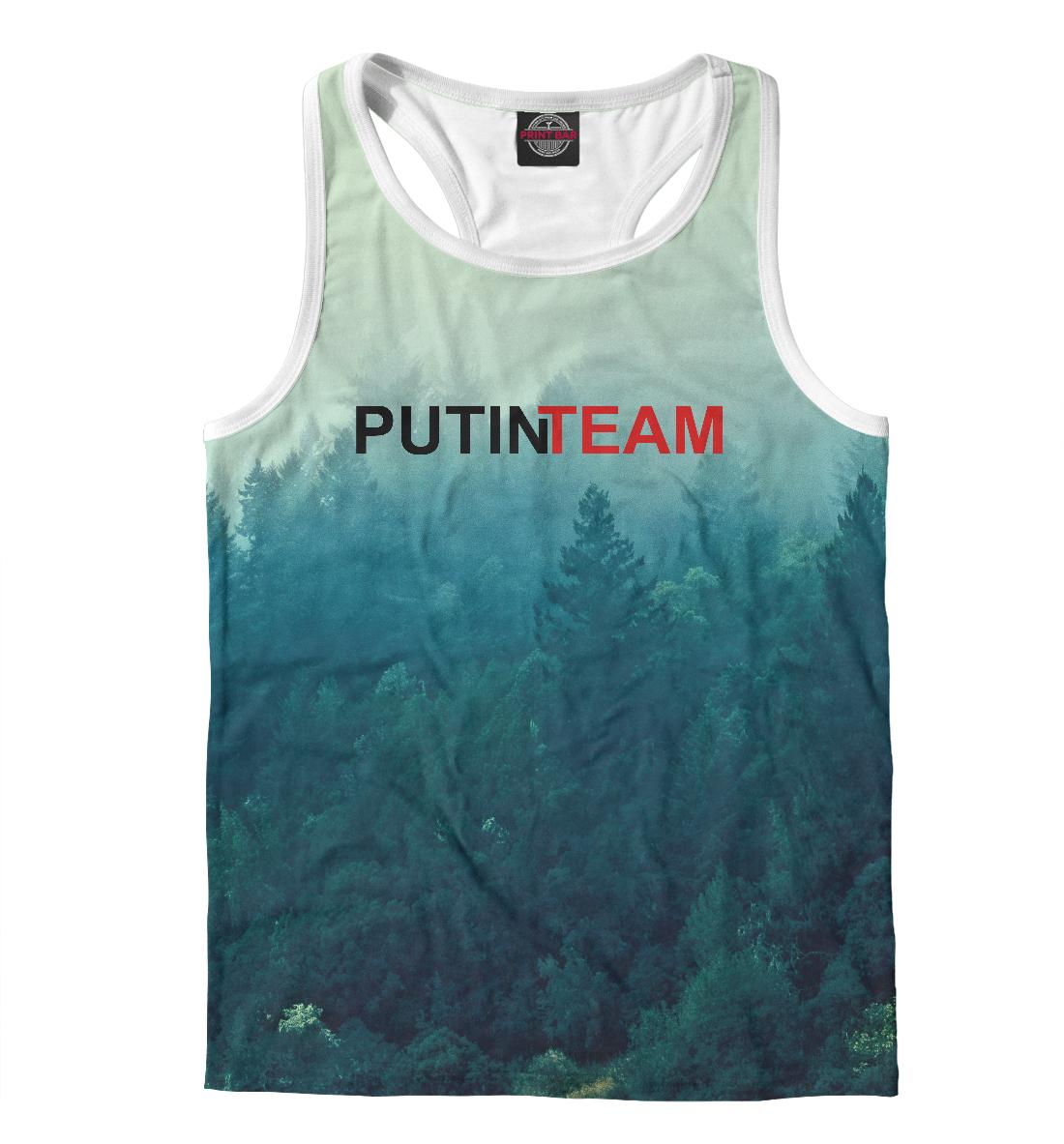 Купить Putin Team, Printbar, Майки борцовки, PUT-946315-mayb-2