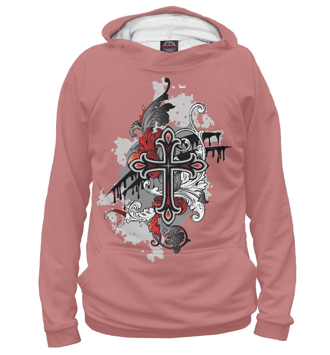 Купить Крест, Printbar, Худи, TAT-762116-hud-2