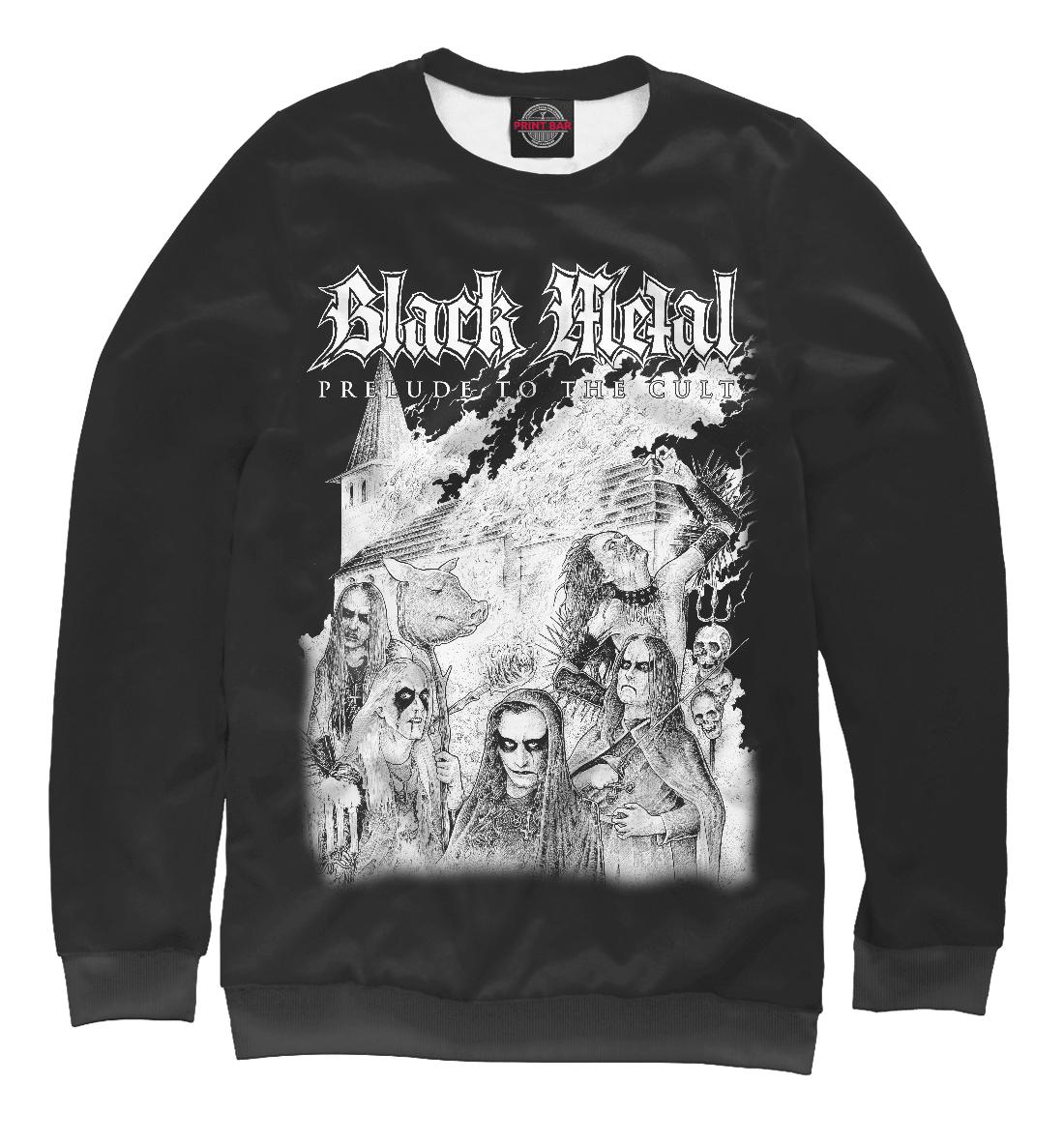 Купить Black Metal, Printbar, Свитшоты, MZK-267645-swi-2
