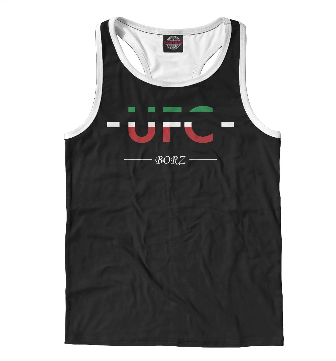 Купить UFC Borz, Printbar, Майки борцовки, MNU-162394-mayb-2