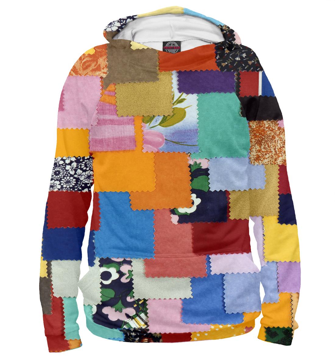 Купить Лоскутное шитье, Printbar, Худи, APD-329873-hud-1
