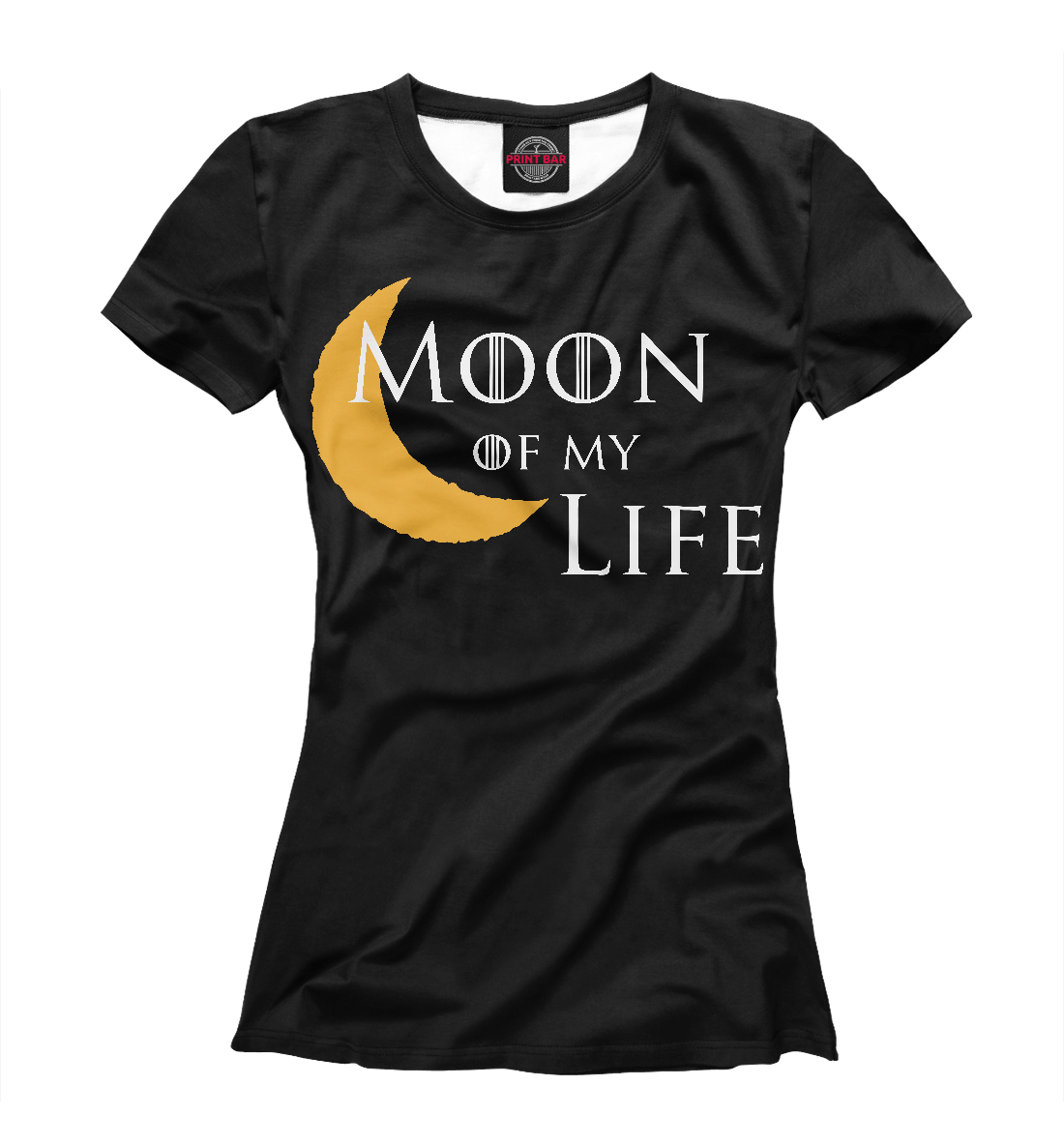 Купить Луна моей жизни, Printbar, Футболки, IGR-288083-fut-1