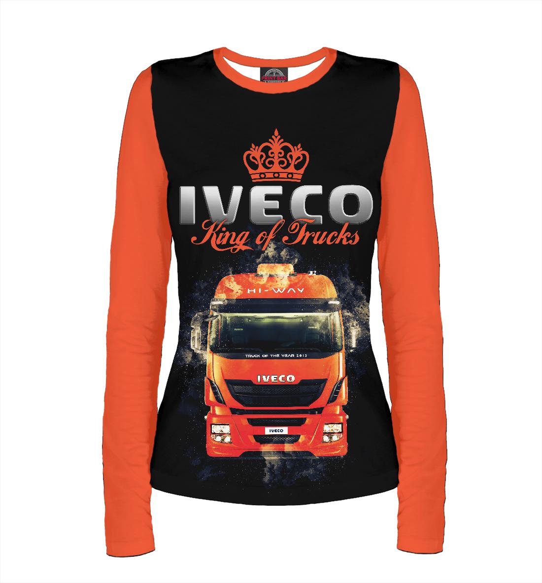 Купить IVECO - король грузовиков, Printbar, Лонгсливы, GRZ-502294-lon-1