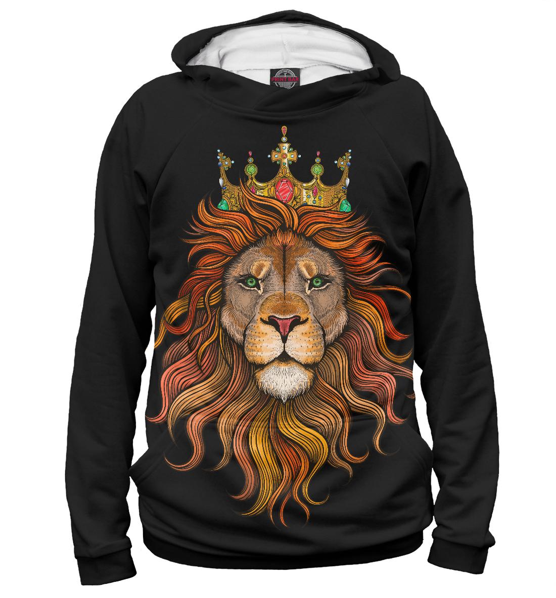 Купить Лев король, Printbar, Худи, HIS-770828-hud-1