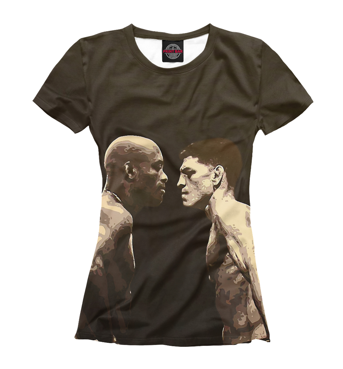 Купить Anderson Silva and Nick Diaz, Printbar, Футболки, MNU-958983-fut-1