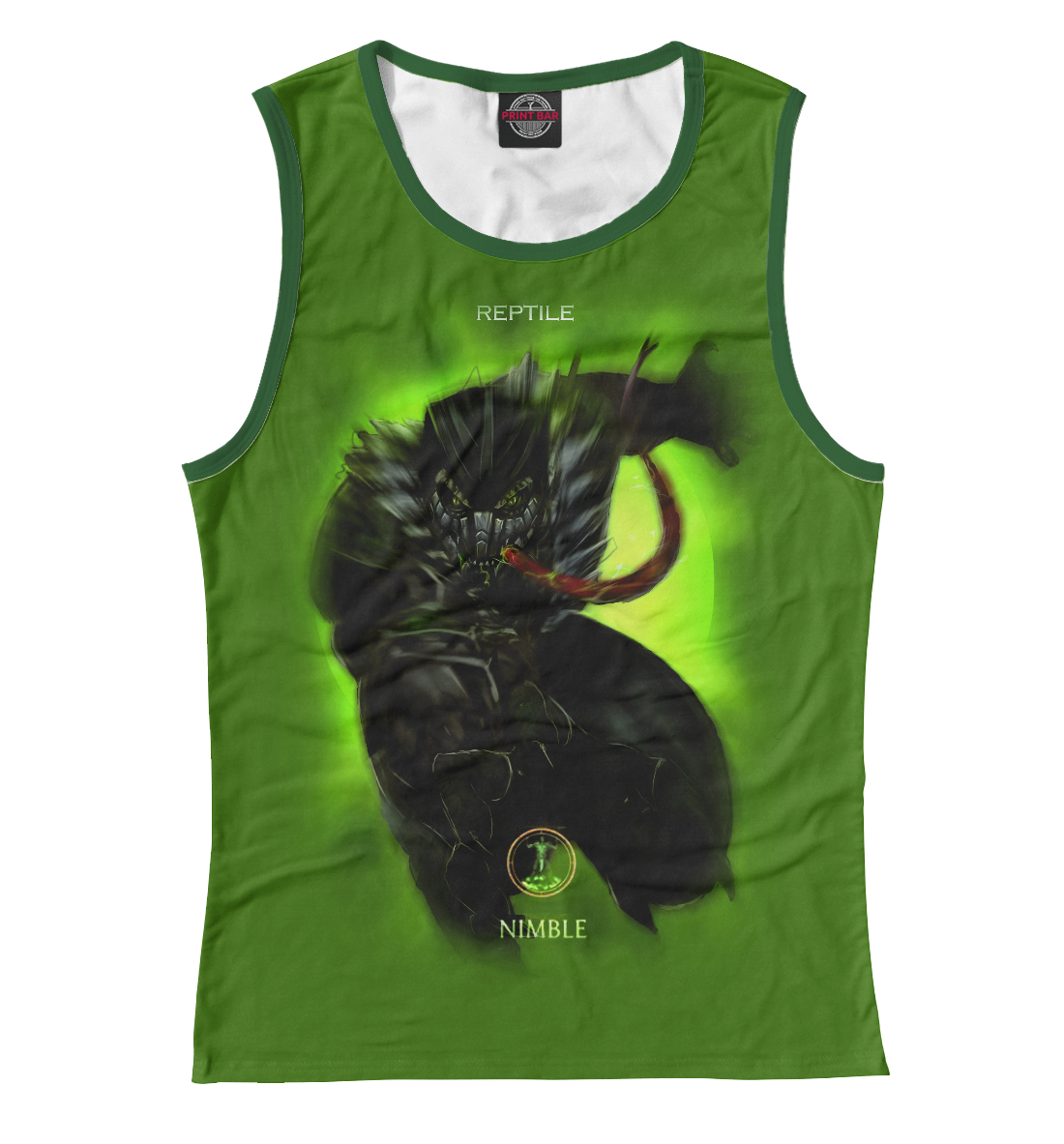Купить Reptile, Printbar, Майки, MKB-943175-may-1