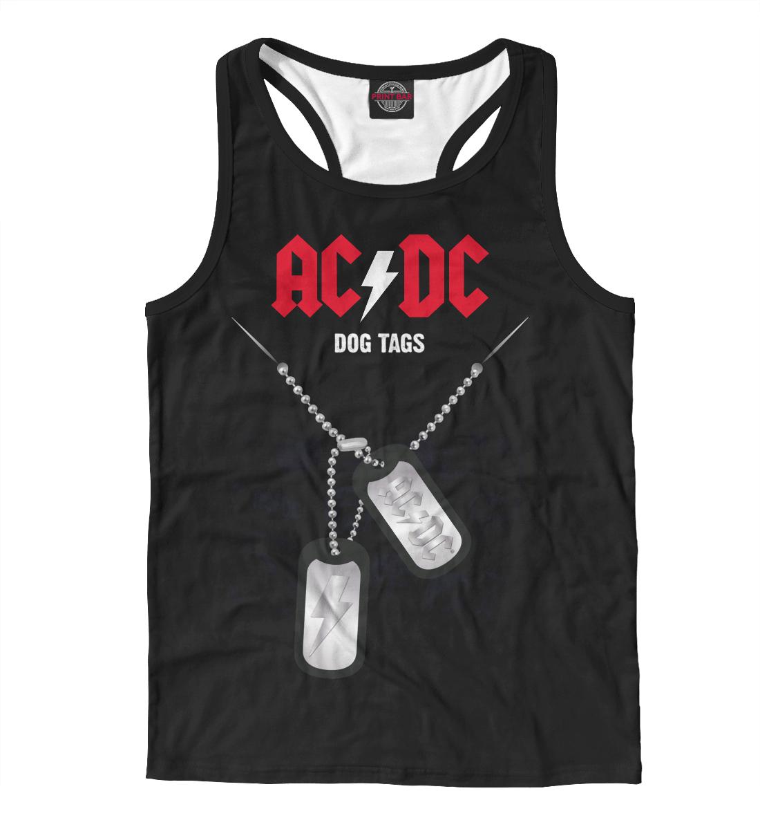 Купить AC/DC, Printbar, Майки борцовки, ACD-554112-mayb-2
