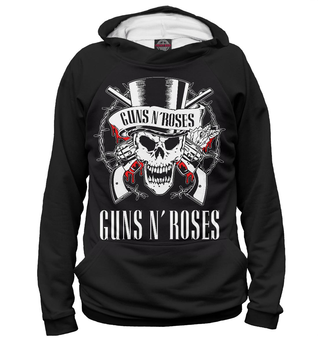 Купить Guns N'Roses, Printbar, Худи, GNR-629158-hud-1