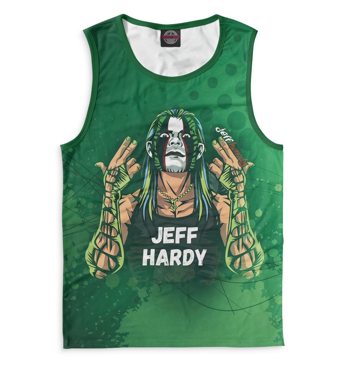 Джефф Харди, Printbar, Майки, WWE-147290-may-2  - купить со скидкой