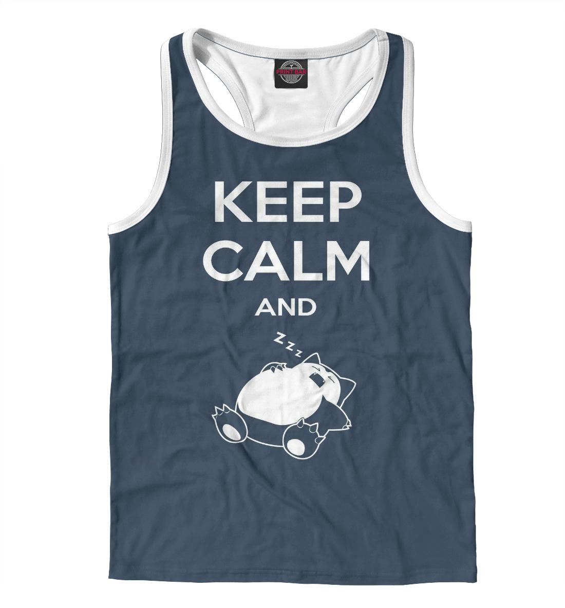 Фото - Keep calm and zzz funny printio футболка с полной запечаткой женская keep calm and zzz funny
