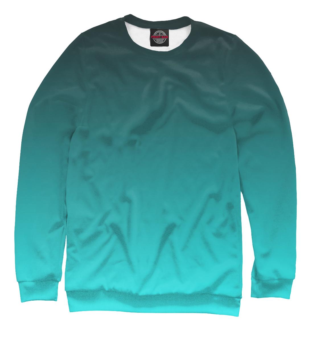 Купить Градиент Голубой в Черный, Printbar, Свитшоты, CLR-276598-swi-2