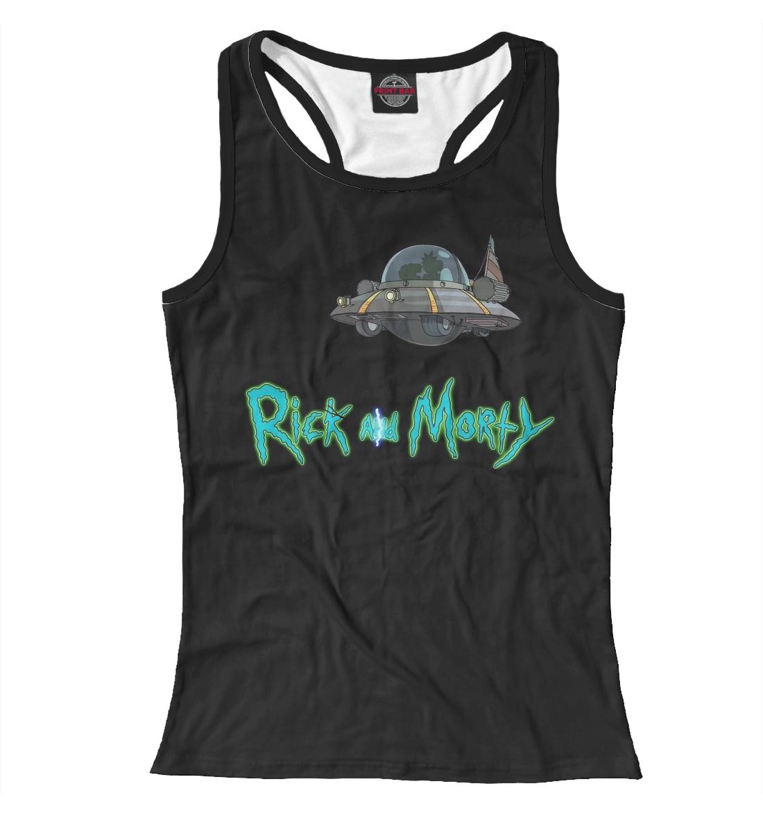 Купить Rick and Morty, Printbar, Майки борцовки, RNM-387537-mayb-1