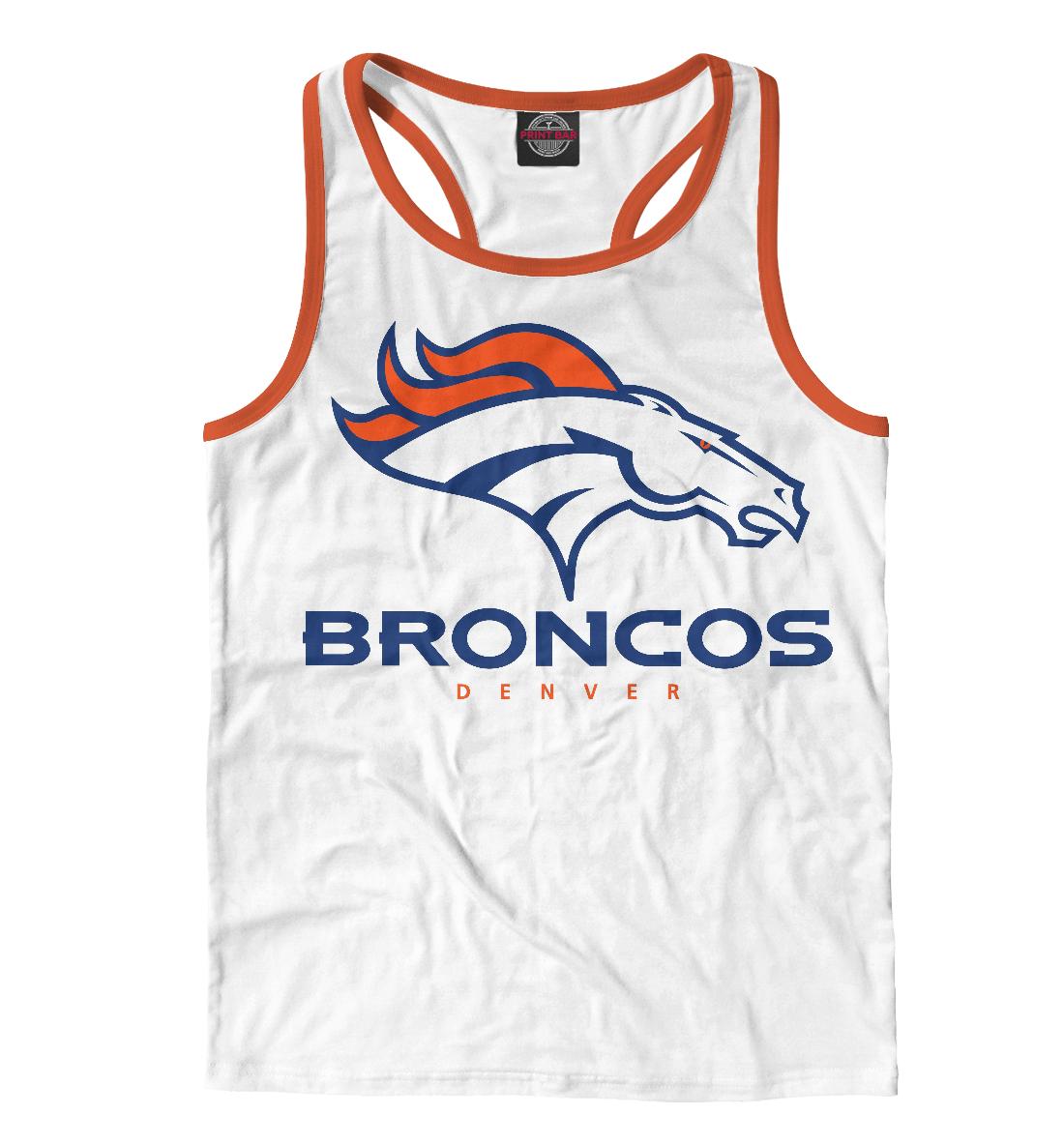 Купить Denver Broncos - Денвер Бронкос, Printbar, Майки борцовки, APD-335785-mayb-2