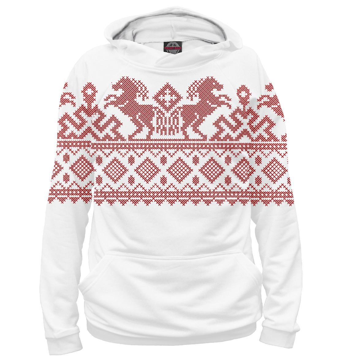 Русский народный орнамент, Printbar, Худи, ORN-821857-hud-2  - купить со скидкой