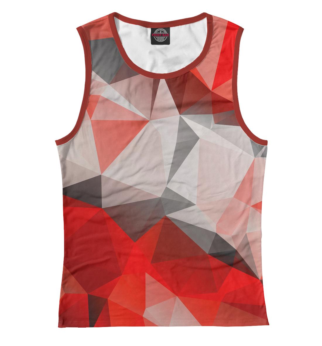 Купить Red abstract, Printbar, Майки, ABS-859200-may-1