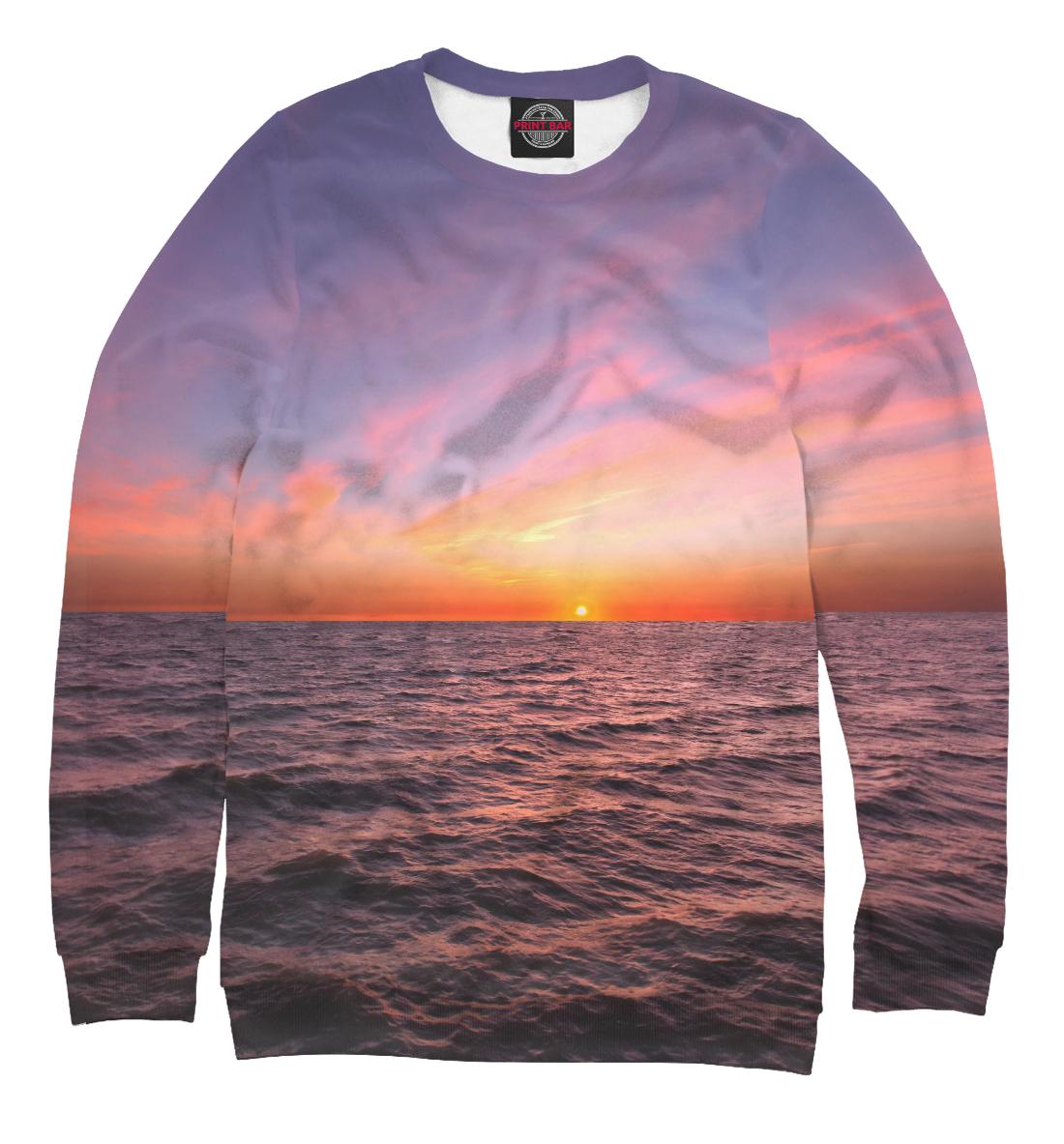 Лиловый морской закат
