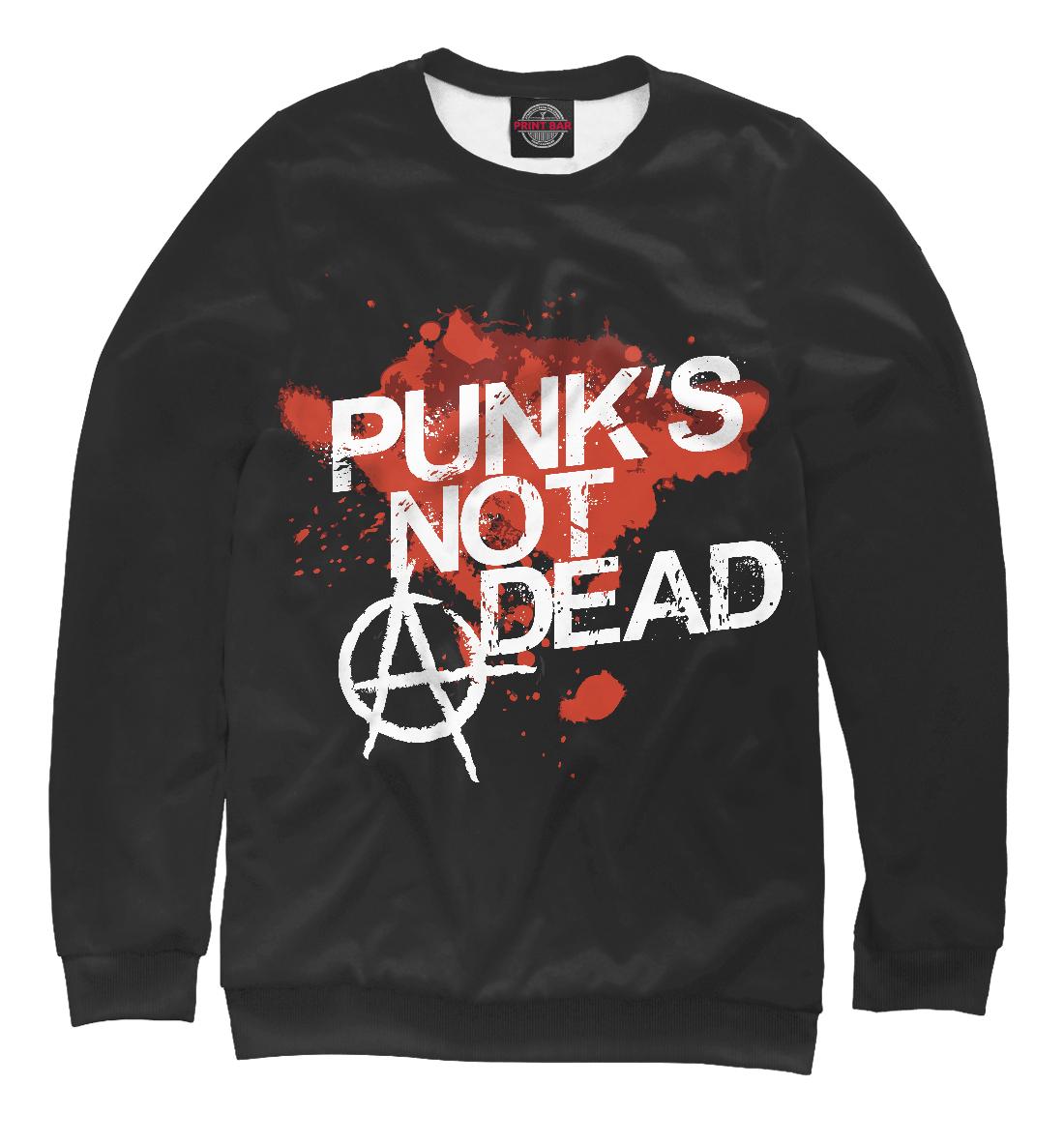 Купить Punks not dead, Printbar, Свитшоты, MZK-214275-swi-1