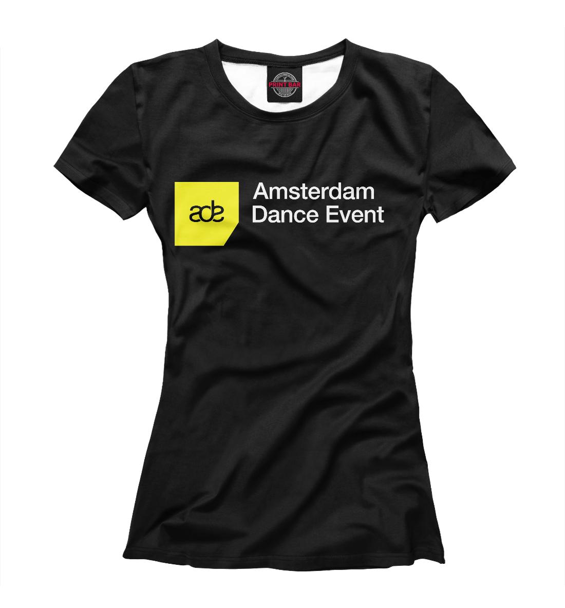 Купить Amsterdam Dance Event, Printbar, Футболки, DJS-406901-fut-1
