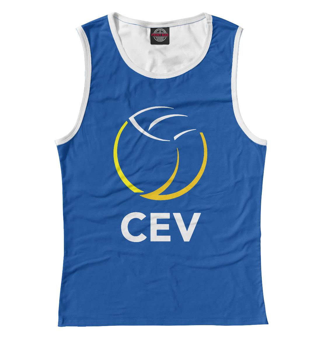 Купить Volleyball CEV (European Volleyball Confederation), Printbar, Майки, VLB-751765-may-1