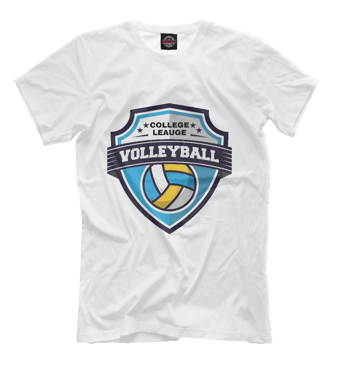 Купить Volleyball, Printbar, Футболки, VLB-745031-fut-2