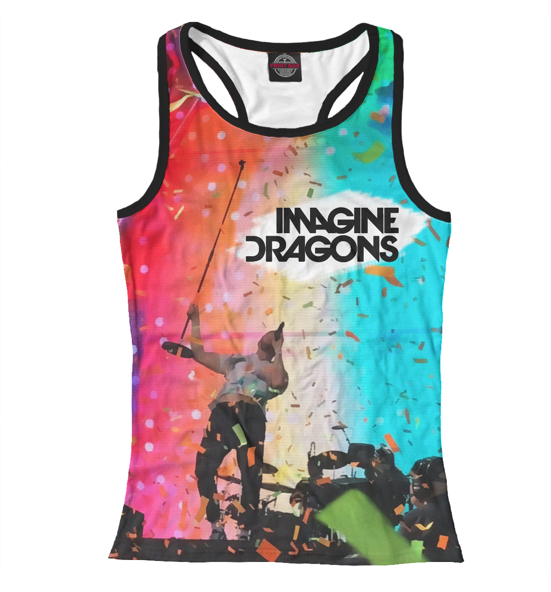 Купить Imagine Dragons, Printbar, Майки борцовки, IMA-975068-mayb-1