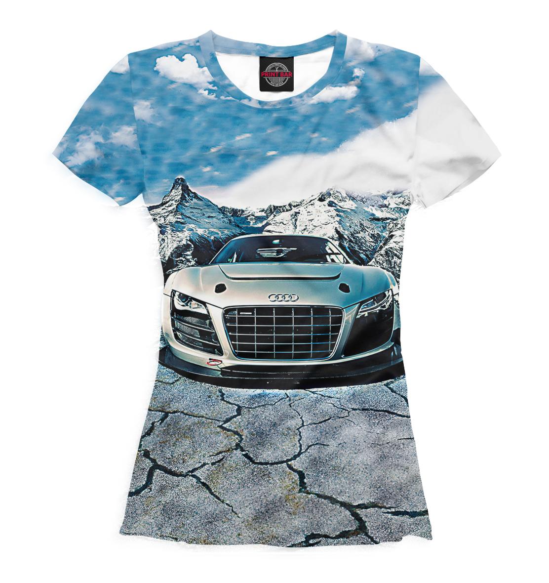 Купить Audi, Printbar, Футболки, AUD-621446-fut-1