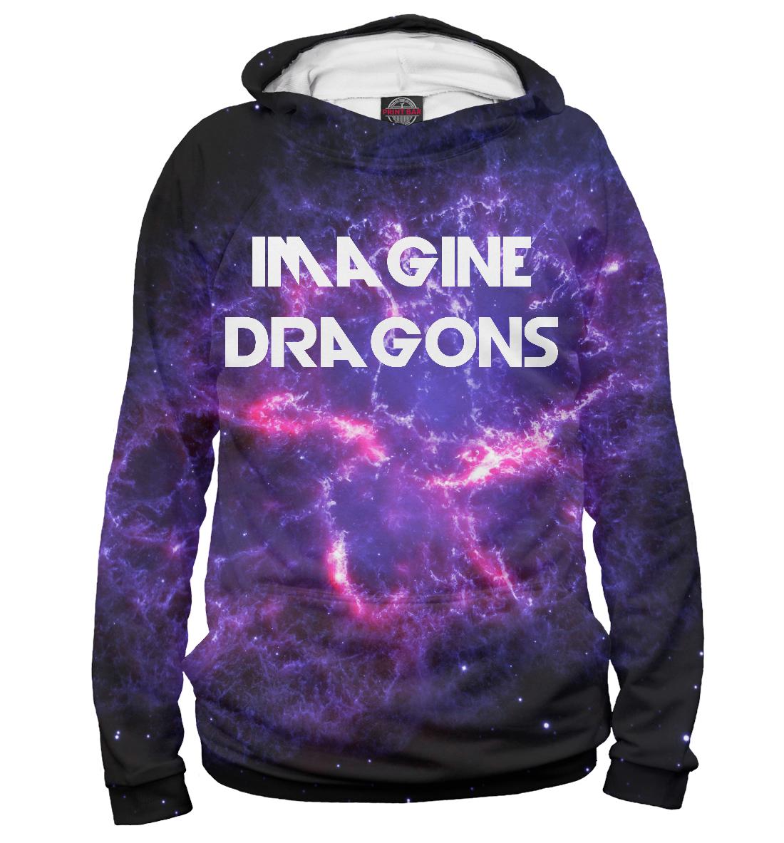 Купить Imagine Dragons in Stars, Printbar, Худи, IMA-413813-hud-2