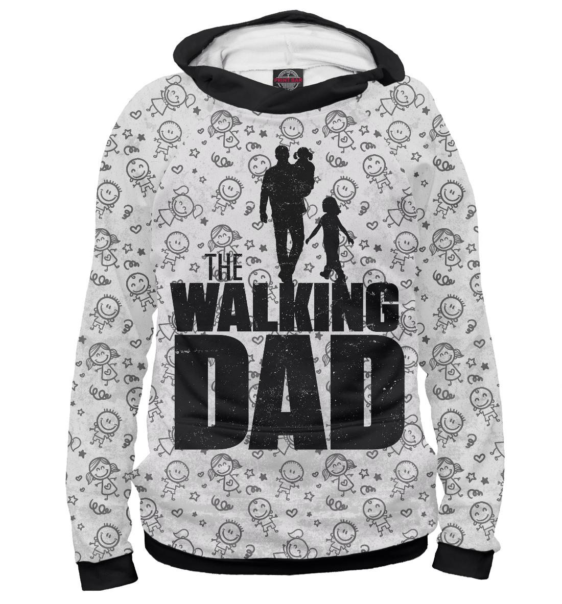 Купить Walking Dad, Printbar, Худи, HOD-465409-hud-1