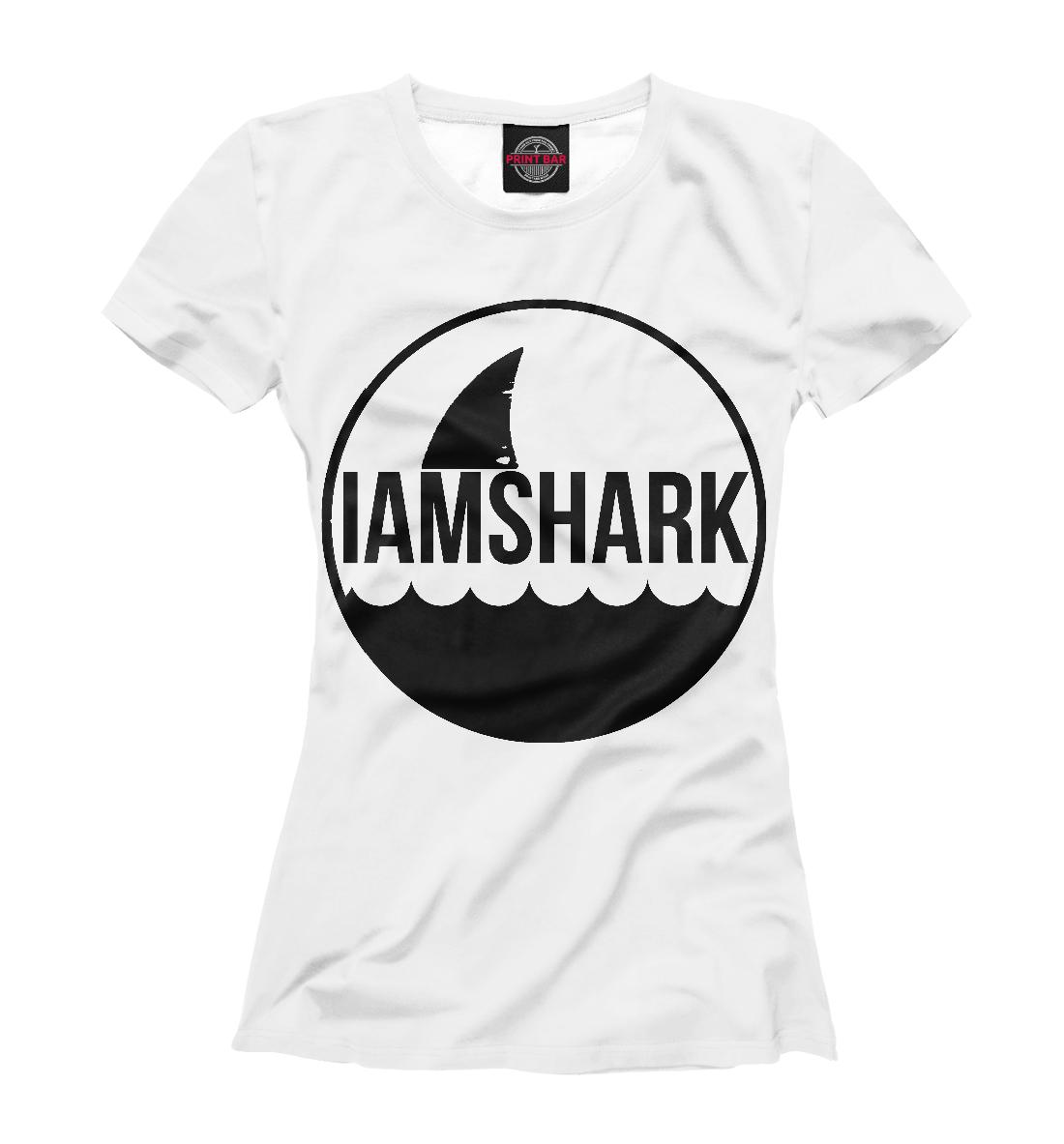 Купить Shark, Printbar, Футболки, AKL-290678-fut-1