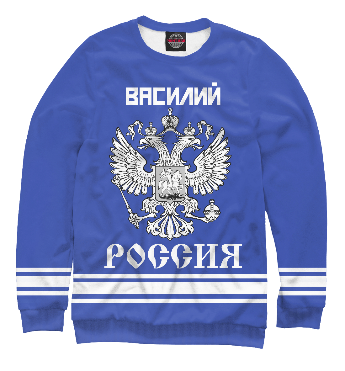 Купить ВАСИЛИЙ sport russia collection, Printbar, Свитшоты, VSL-869320-swi-2