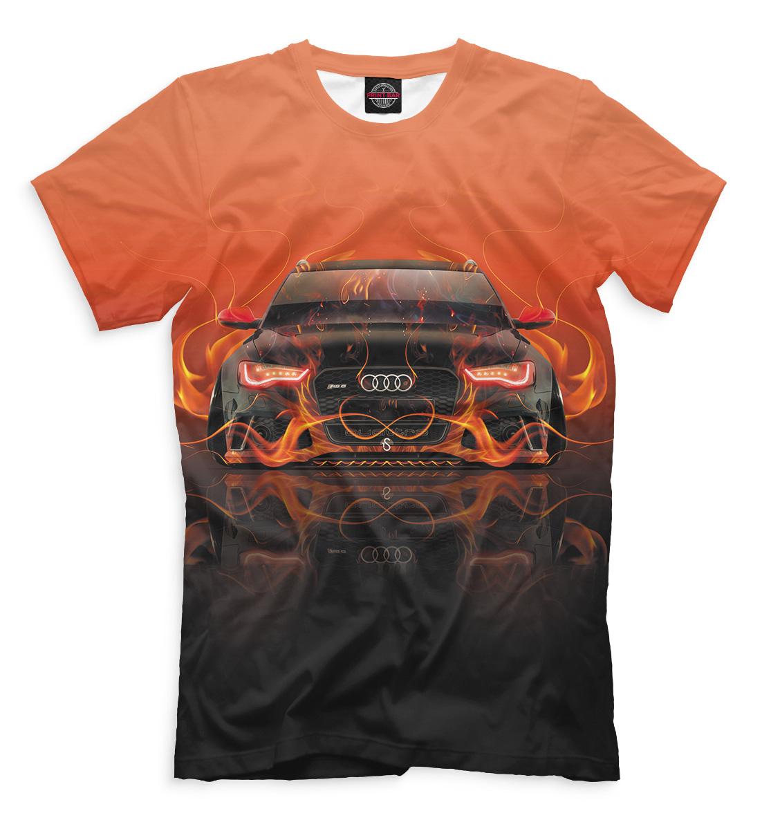 Купить Audi RS6, Printbar, Футболки, AUD-910699-fut-2