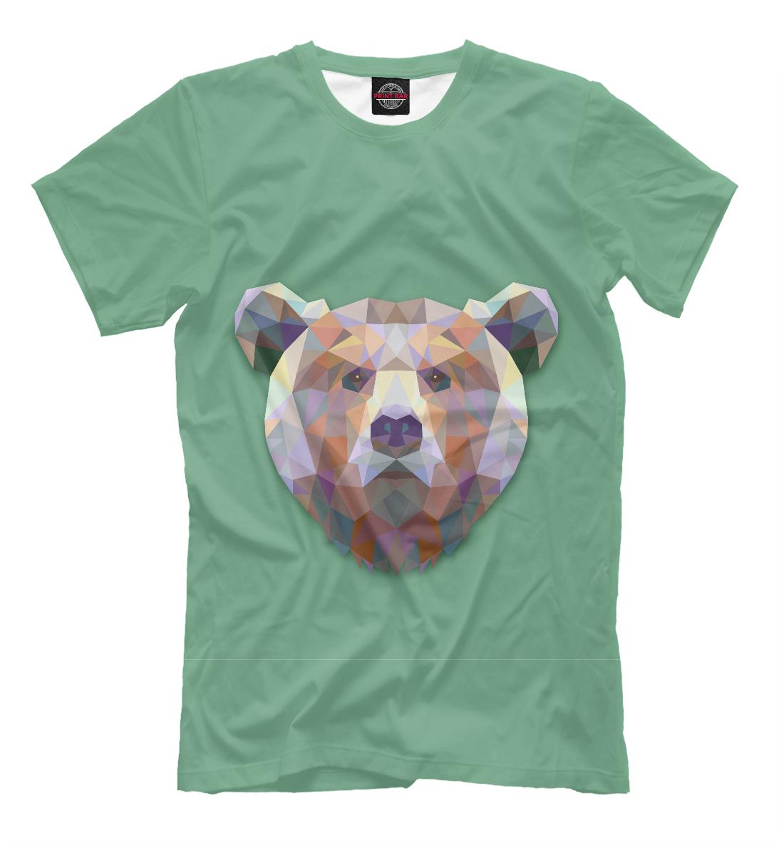 Купить Grizzly, Printbar, Футболки, MED-348313-fut-2