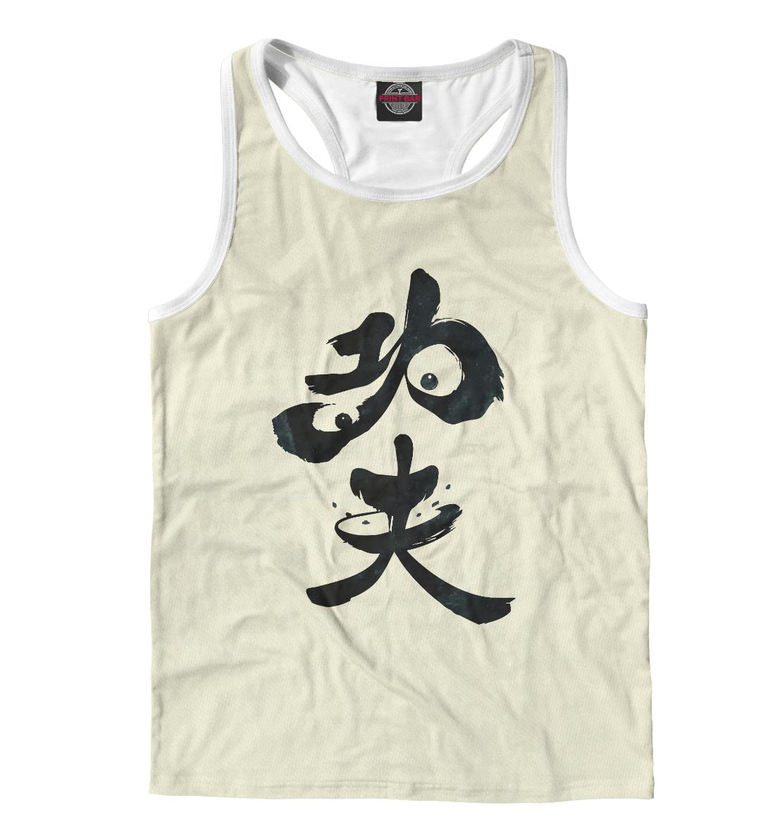 Купить Panda Hieroglyph, Printbar, Майки борцовки, PAN-890082-mayb-2