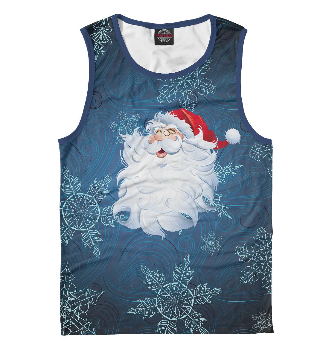 Купить Веселый Дед Мороз, Printbar, Майки, NOV-514464-may-2