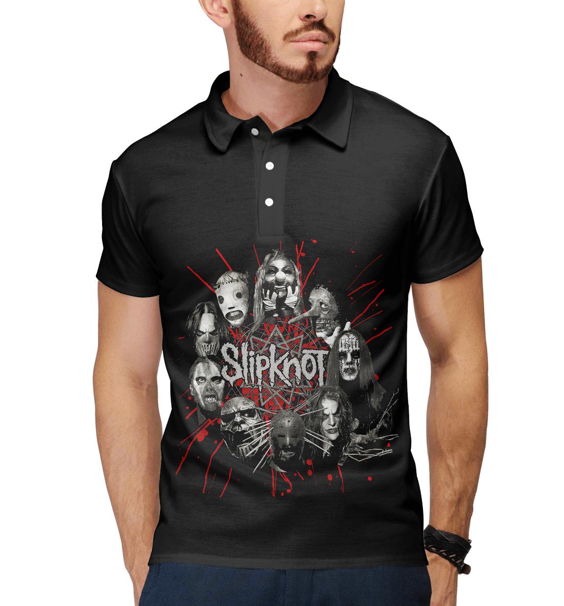 Купить Slipknot, Printbar, Поло, SLI-816812-pol-2