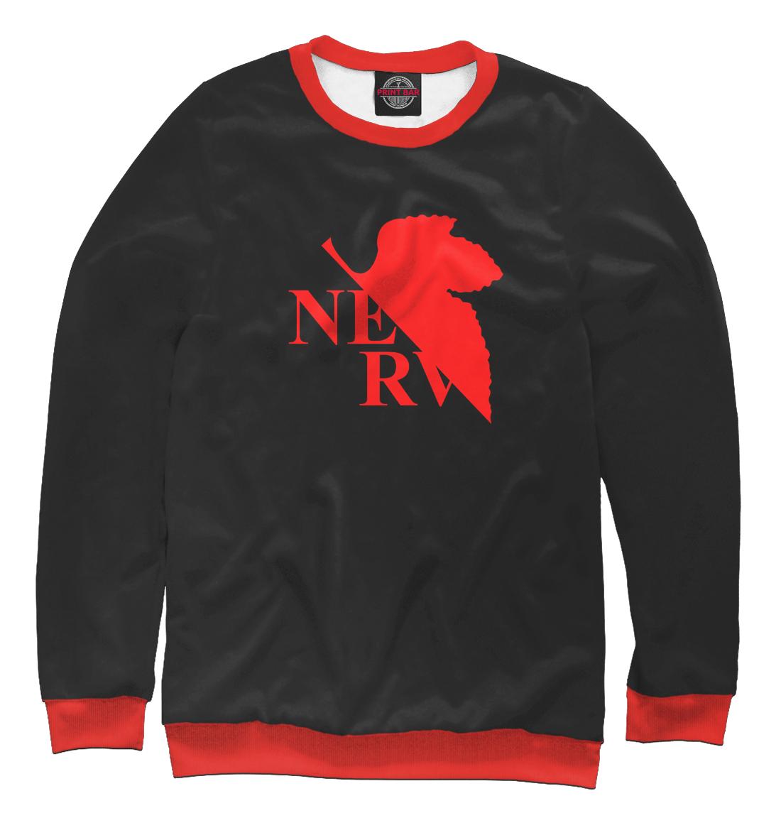 Купить Evangelion NERV Black style, Printbar, Свитшоты, APD-132191-swi-2
