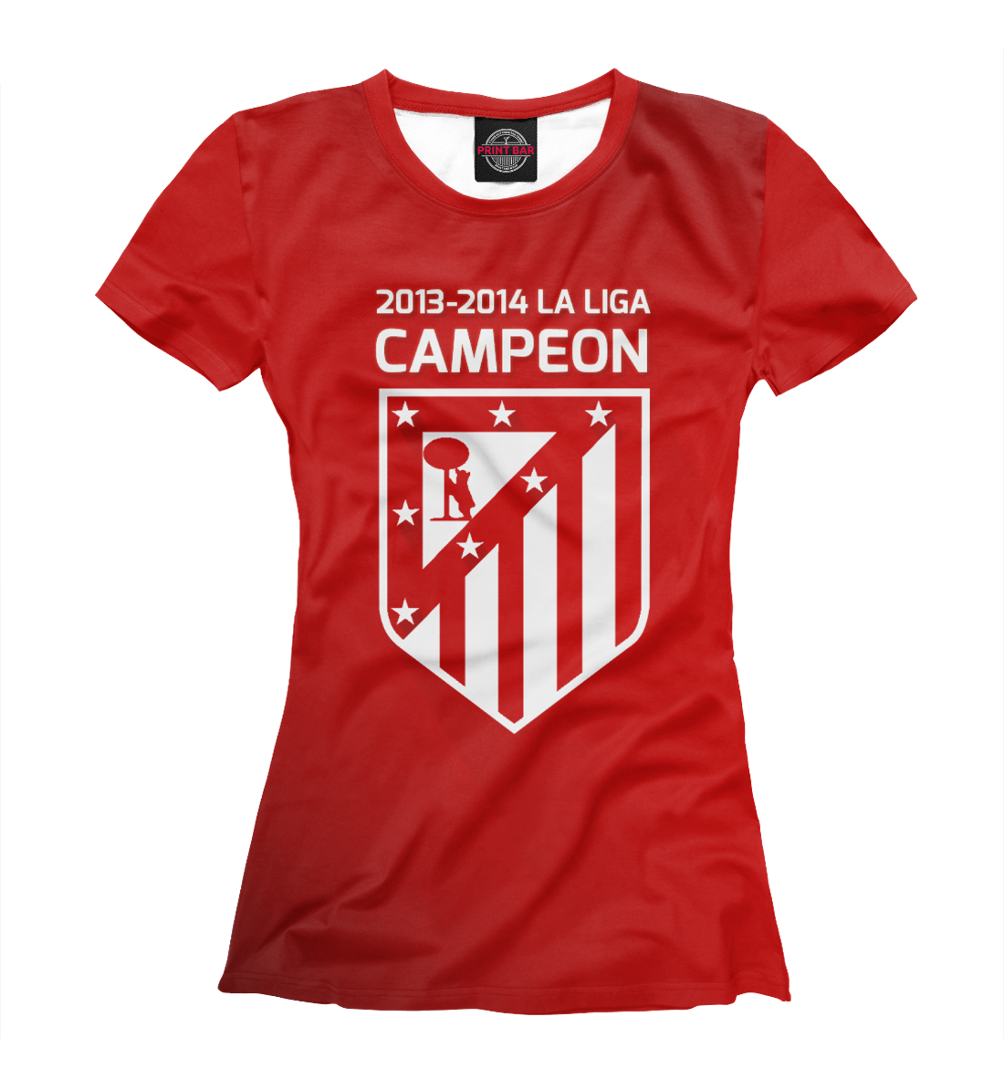 Купить Campeon La Liga 2013-2014, Printbar, Футболки, APD-448643-fut-1