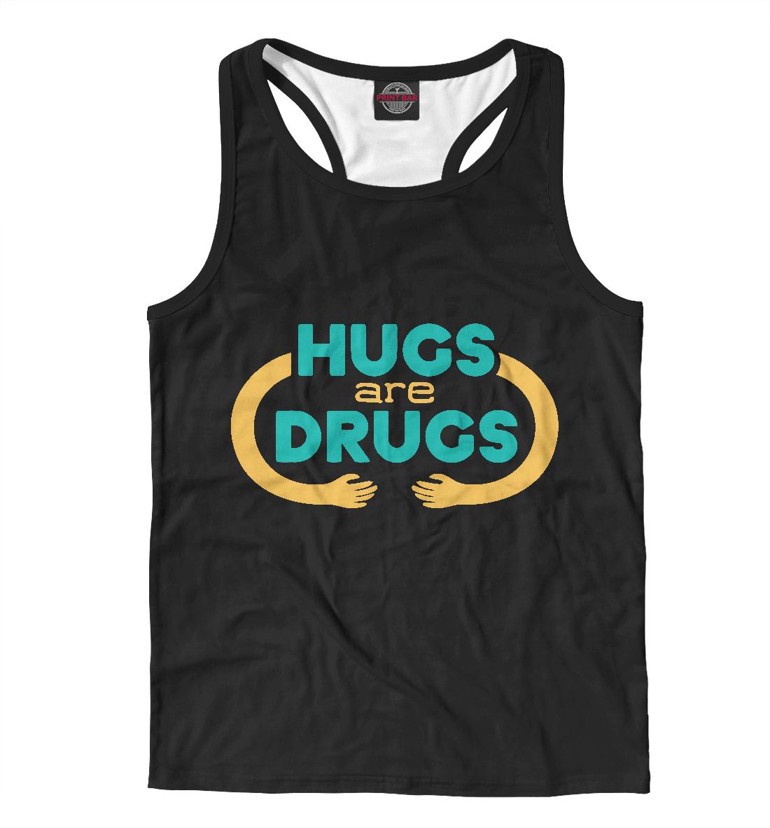 Купить Обнимашки это наркотик, Printbar, Майки борцовки, NDP-126842-mayb-2