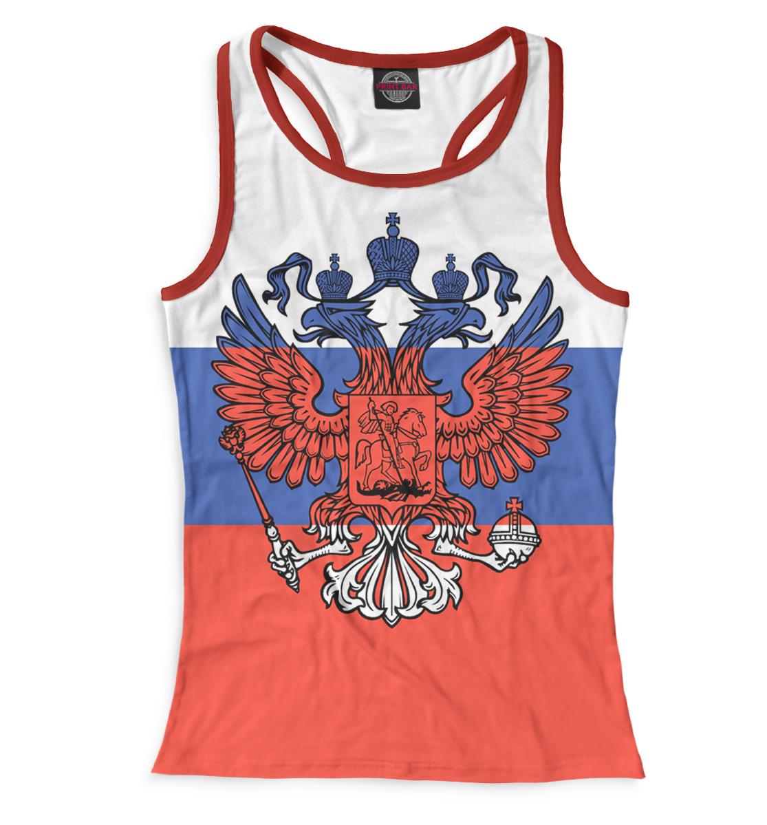 Купить Триколор и герб, Printbar, Майки борцовки, SRF-697880-mayb-1