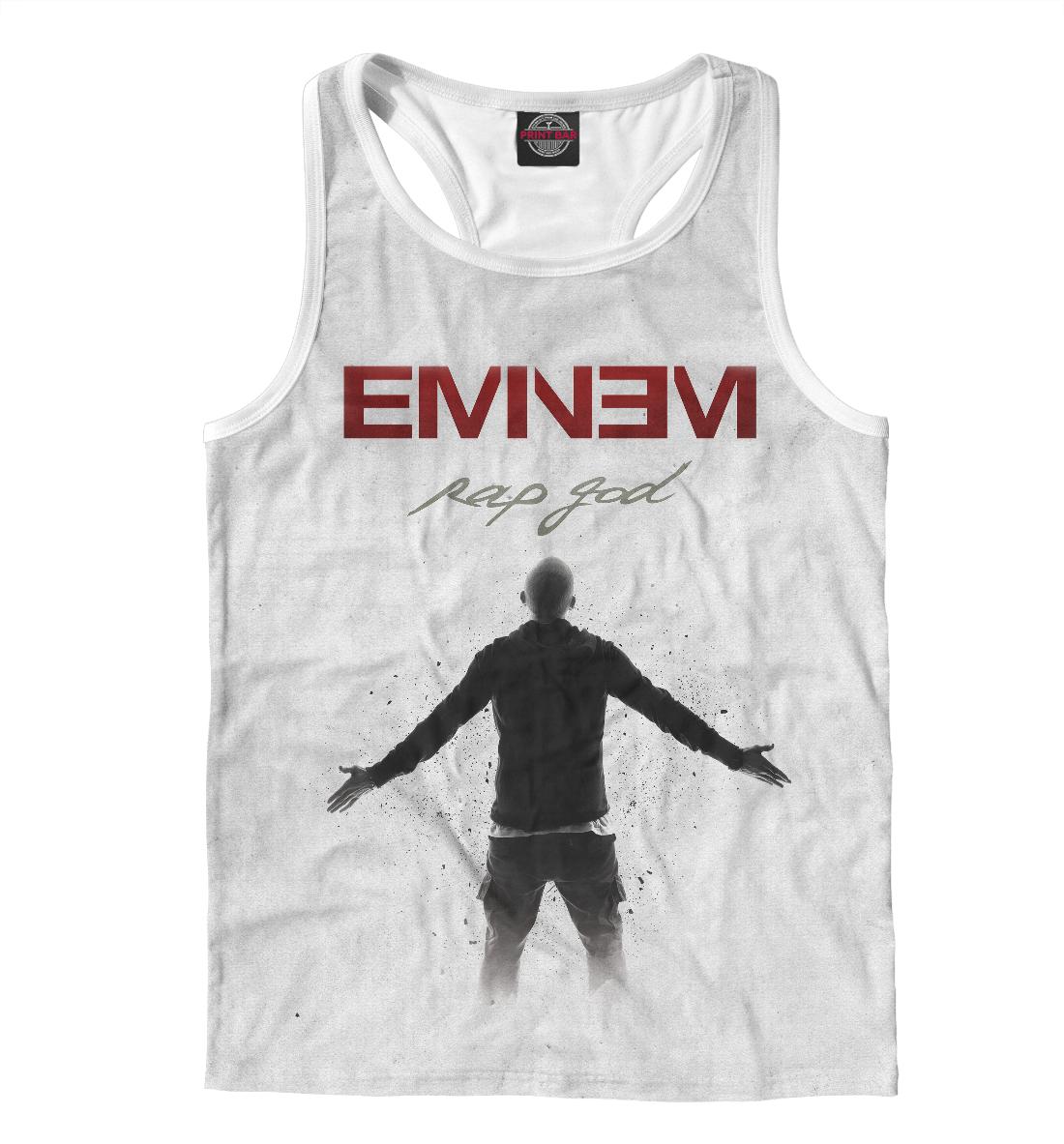Купить Eminem, Printbar, Майки борцовки, EMI-240523-mayb-2
