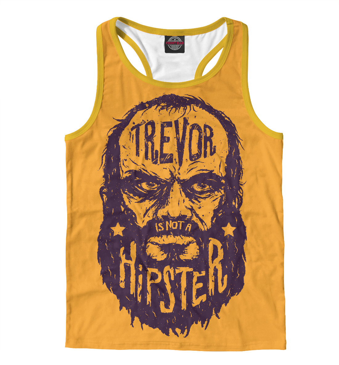 Купить Тревор не хипстер, Printbar, Майки борцовки, HIP-796339-mayb-2