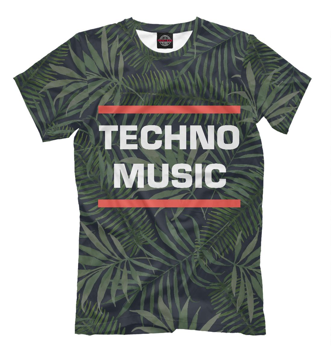Купить Techno music, Printbar, Футболки, DJS-313981-fut-2