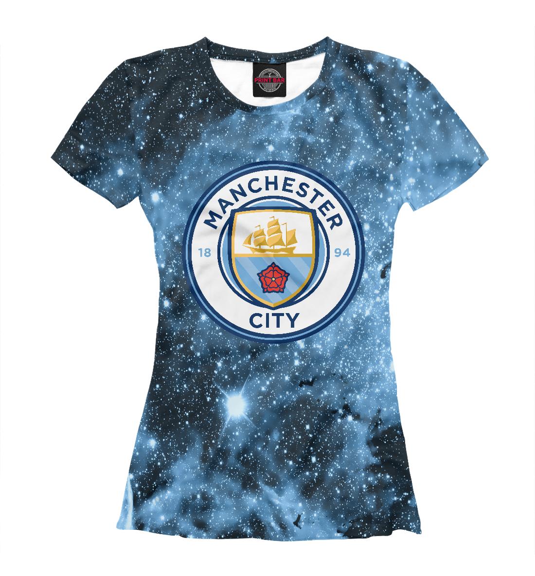 Купить Manchester City Cosmos, Printbar, Футболки, MNC-101278-fut-1