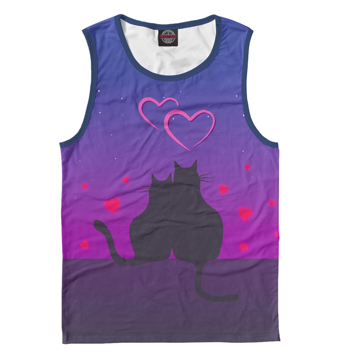 Купить Cat's desire. Парные футболки., Printbar, Майки, 14F-763648-may-2