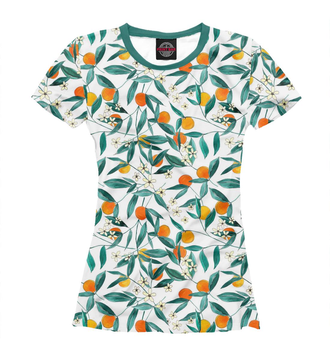 Купить Апельсины, Printbar, Футболки, EDA-469492-fut-1