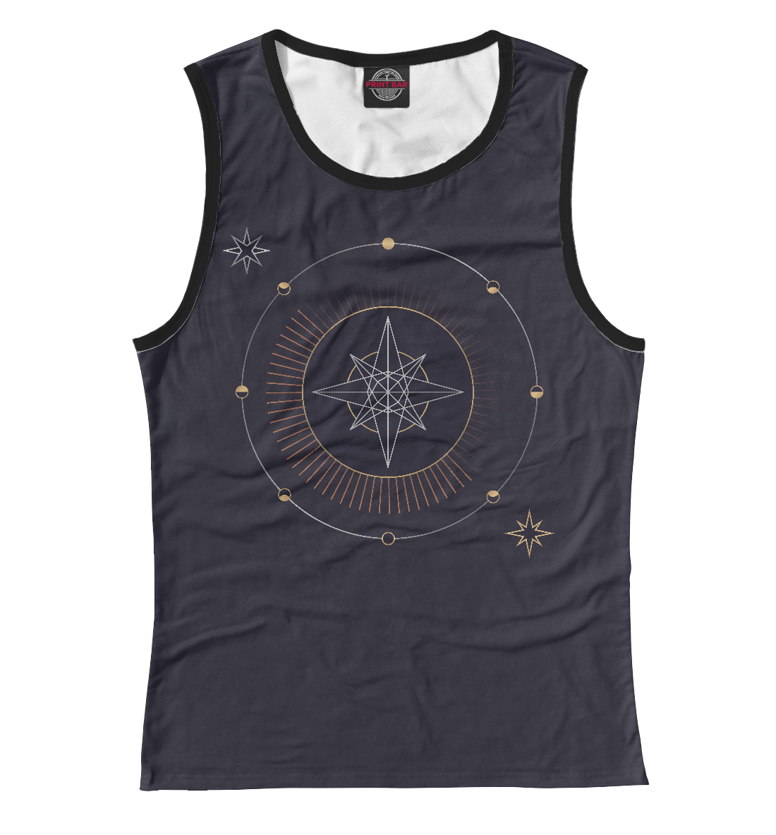Geometric astrological compass