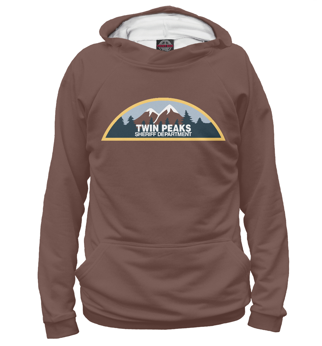 Купить Twin Peaks Sheriff Department, Printbar, Худи, TPS-888354-hud-2