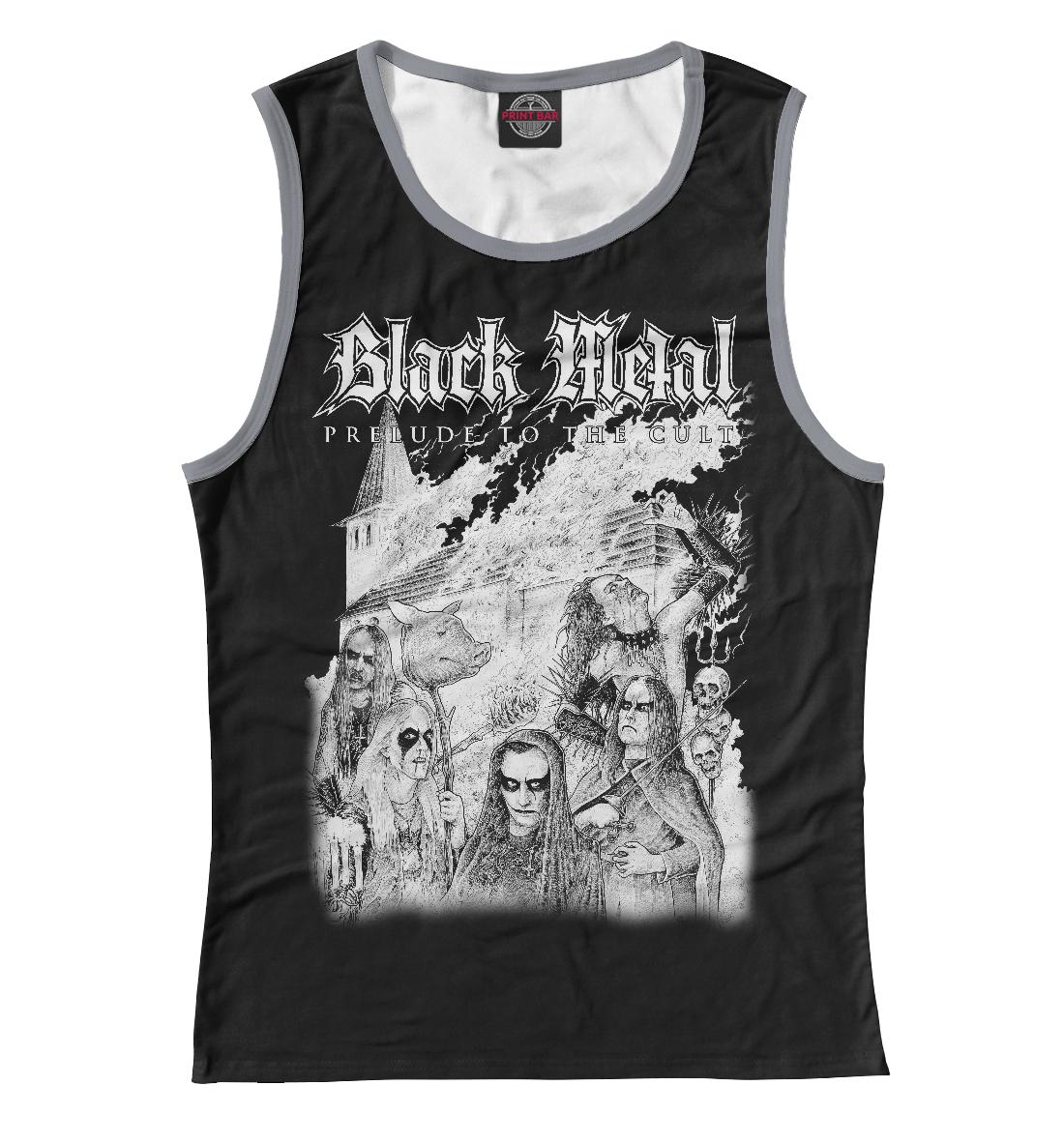 Купить Black Metal, Printbar, Майки, MZK-267645-may-1